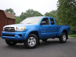 toyota tacoma 2009 ground clearance