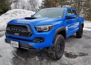 toyota tacoma ground clearance