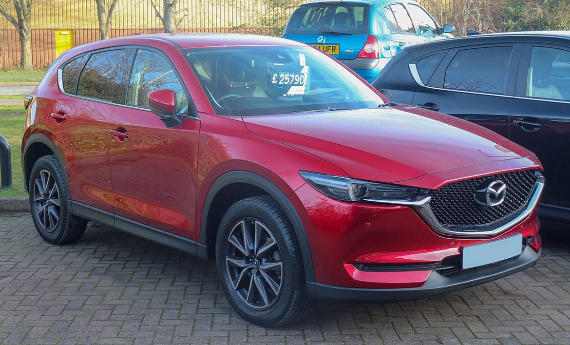 Mazda CX-5 Ground Clearance